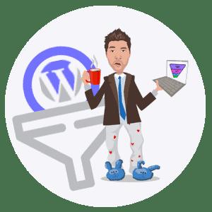 entonnoir de vente tunnel de vente avec wordpress